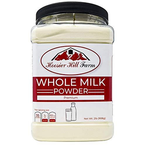 Hoosier Hill All American Whole Milk Powder 2 LBS, rBST Free