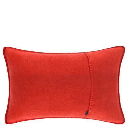 Soft-fleece kussensloop – polarfleece met gehaakte steek – zachte, hoogwaardige sofa-kussensloop – 30 x 50 cm – van 'zoeppritz since 1828'
