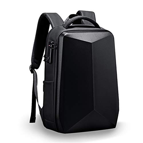 HUBi Men's Outdoor Backpack, Large-capacity Password lock Anti-thief Waterproof Backpack, Suitable for Travel/Business/Camping