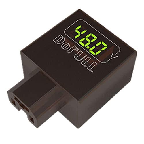 Dekaim Cargador USB de Motocicleta, Cargador rápido de teléfono móvil de Motocicleta de Coche eléctrico Adaptador de Enchufe de Fuente de alimentación USB 2A