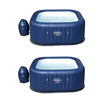 Bestway SaluSpa Hawaii AirJet 6-Person Portable Inflatable Spa Hot Tub (2 Pack)