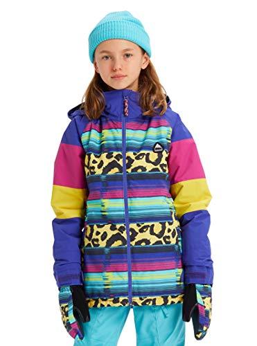 Burton Girls' Hart Jacket, Medium, Leopardy Cat Multi, Medium