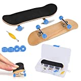 Fingerboard Finger Skateboards, Mini diapasón, Patineta de Dedos Profesional Maple Wood...
