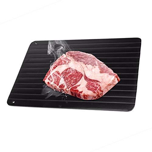Auftauplatte Auftaubrett für Fleisch/Fisch/Gemüse zum schnellen, natürlichen Auftauen (ohne Strom) Zubehör Küche Defrost Unfreeze (Größe M)