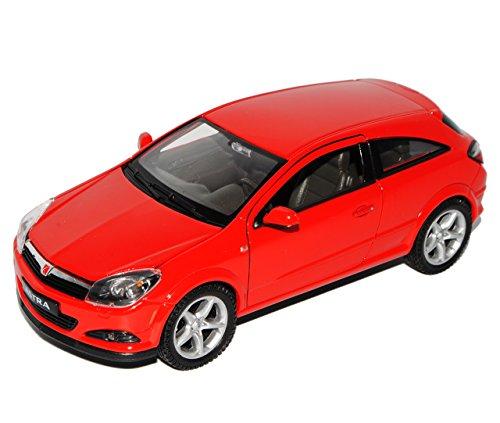 Welly Opel Astra H GTC Rot Coupe 2005-2010 1/24 Modell Auto mit individiuellem Wunschkennzeichen