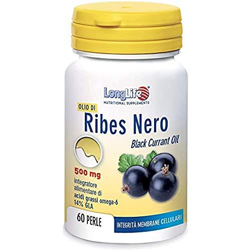 LongLife Olio Di Ribes Nero 500 Mg - 42 Gr