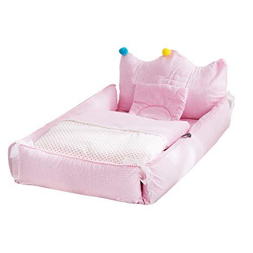 AIZYR Pod De Sommeil De Bébé, Snuggly Soft Sleeping Pod pour Lit De Bébé Rembourrage en Coton Perlé Ultra-Fin, Lavable, Lit Fendu (Légèrement Lavable en Machine)
