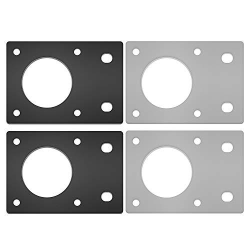Shumo Accessori per Stampanti 3D Piastra di Montaggio per Motore Passo-Passo Serie 42 NEMA 17 Staffa per Piastra Fissa per Stampante 3D Parti CNC per