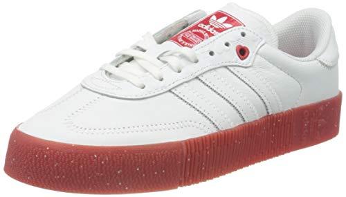 adidas SAMBAROSE W, Zapatillas Deportivas Mujer, FTWR White Scarlet Core Black, 41 1/3 EU