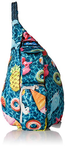 KAVU Women's Mini Rope Sling, Float Riot, No Size