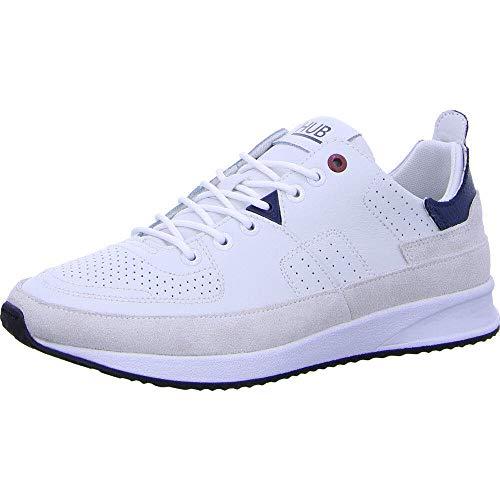 Hub Footwear Zone-M - Herren Schuhe Sneaker - White-Blue-White-bla, Größe:41 EU