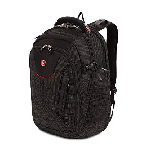 SwissGear Bungee Backpack, Black/Grey, One Size