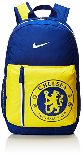 Nike Kinder Stadium Chelsea FC Rucksack, Mehrfarbig (Rush Blue/Tour Yellow/White), 15x24x45 Centimeters (W x H x L)