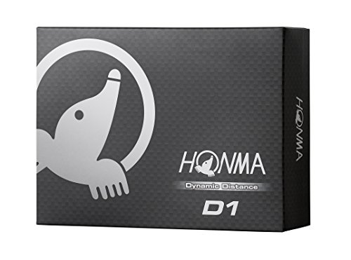 Honma D1 Dynamic Distance Golf Balls 1 Dozen (White)