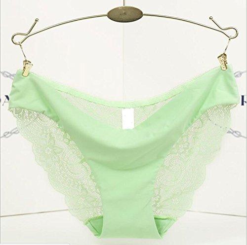 Alamor 3/Pack sexy verleiding kant ijs zijde een soort naadloze lage taille dames ondergoed ademende slip