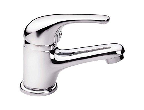 'aquaSu® Einhandmischer Ottawa für Waschtisch | Chrom | Wasserhahn | Einhebelmischer | Armatur | Mischbatterie