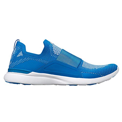 APL: Athletic Propulsion Labs Women's Techloom Bliss Sneaker (9, Electric Blue/White)