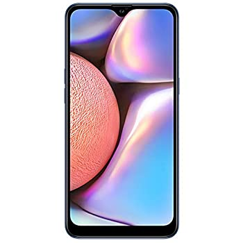 Samsung Galaxy A10s with Fingerprint  32GB 2GB RAM  6.2  Android 9.0 Dual SIM GSM Factory Unlocked A107M/DS - US + Global 4G LTE International Model  Blue 32GB + 64GB SD Bundle