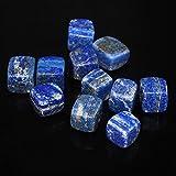 Lapis Lazuli Cubic Quartz Stone-C_100 Gramos