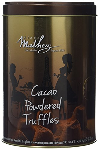 500g Chocolat Mathez Fine French Cocao Powdered Chocolate Truffles Fantaisie