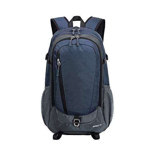 Mochila de viaje para excursionismo al aire libre para mujer, mochila de viaje de gran capacidad impermeable para viaje