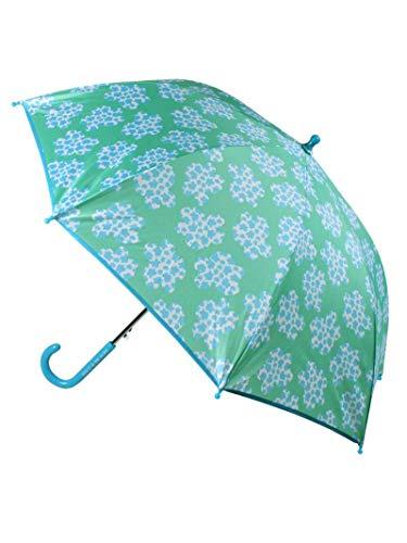 Paraguas infantil resistente al viento sistema de apertura automática color azul con nubes Agatha Ruiz de la Prada