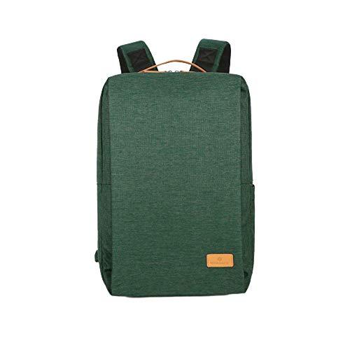 Nordace, Smart Backpack Siena, zaino, 19L USB, verde (Verde) - Siena