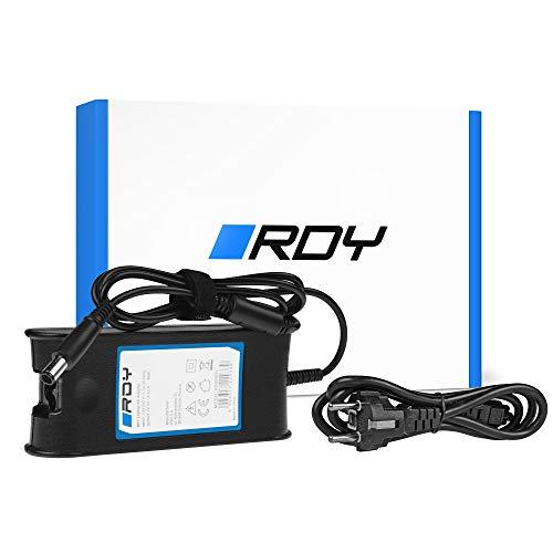 RDY 90W 19.5V 4.62A Cargador para Portátil DELL Inspiron 15R N5010 N5110 Latitude E6410 E6420 E6430 E6510 E6520 E6530 Ordenador Fuente de Alimentación Adaptador Connector: 7.4 x 5.0mm