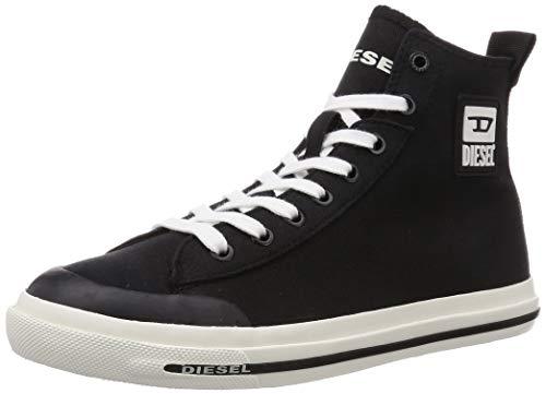 Diesel Herren S-astico Mid Cut Sneaker, Schwarz (Black), 43 EU