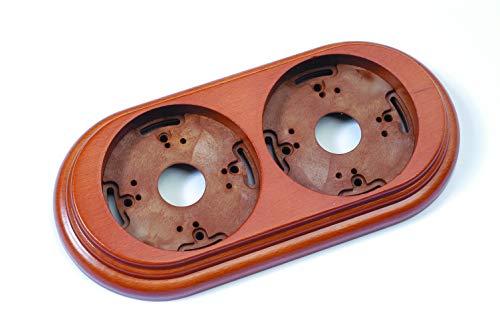 Fontini - marco madera color miel 2elemento garby Ref. 6583020002