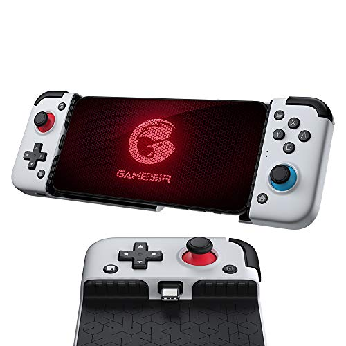 2021 Version GameSir X2 Type-C Mobile Game Controller for Android Phone (Max 173mm) Xbox Cloud Gaming Google Stadia, 51° Movable Type-C Plug and Play E-Sports Gamepad, with Controller Bag