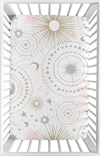 Organic Carousel Designs Custom Star Crib Sheet