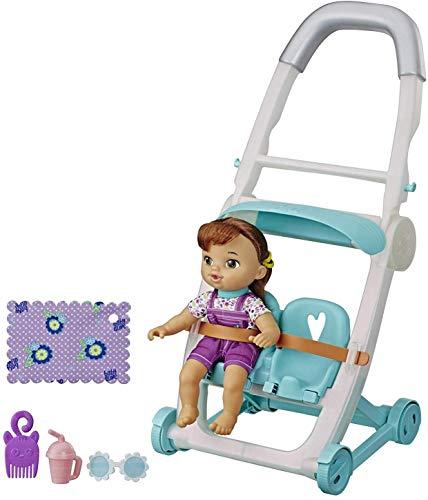 Baby Alive Littles, Push ?N Kick Stroller, Little Lucy