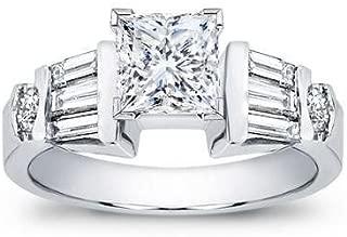 25 princess cut diamond