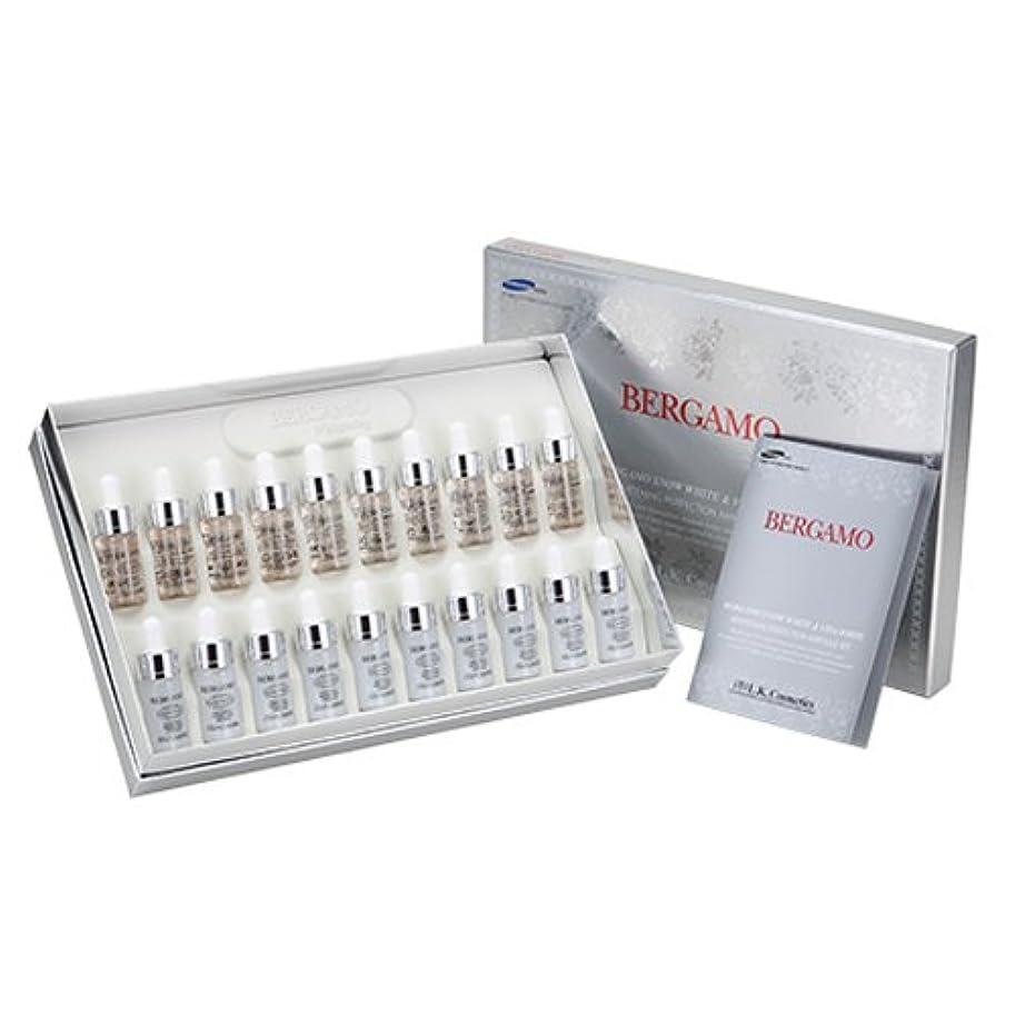 閲覧するスリラー符号ベルガモ[韓国コスメBergamo]White Vitamin Ampoule Set ホワイトビタミン高濃縮アンプル20本セット13mlX20個[並行輸入品]