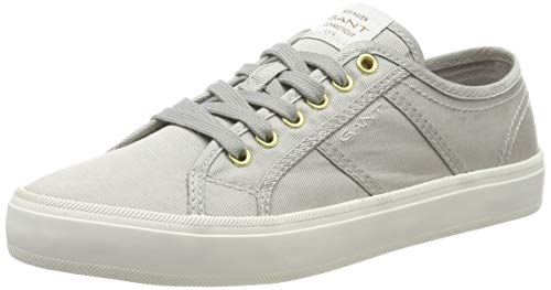 GANT Footwear Damen Zoee Sneaker, Grau (Silver G80), 39 EU