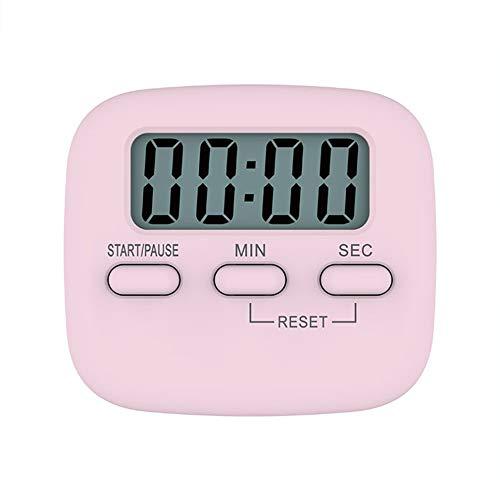 #N/V Temporizador de cuenta regresiva para cocina con temporizador electrónico de recordatorio práctico magnético de cuenta regresiva para decoración de escritorio