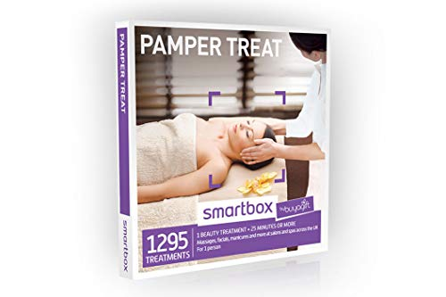 Buyagift Pamper Treat Gift Experiences Box - 1295 pampering gift experiences from massages to manicures