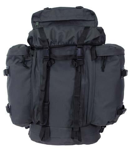 BW sac à dos mountain'olive et dos rembourrés, ceinture