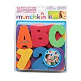 BianchiPatricia Baby Foam Letter and Numbers Stickers Children Floating Bath Shower Toy