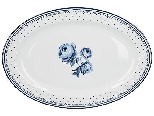 Katie Alice C000102 - Fuente para servir (porcelana), diseño floral
