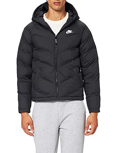 Nike Jungen Synthetic Fill Jacke, Black/Black/Black/White, S