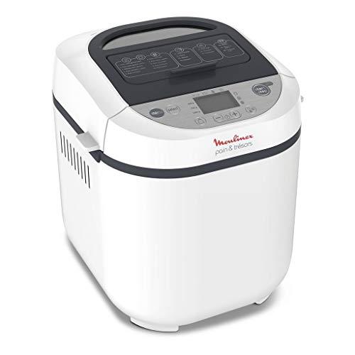 Moulinex OW250110 - Máquina de pan (720 W), color blanco