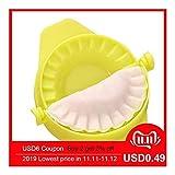 BLTR Pasticceria Polpetta Maker stampi Macchina di Cottura della Pasticceria della Cucina Strumenti di Cottura Accessori Fai da Te Buon Jiaozi Dispositivo Maker cucinando (Color : Yellow(1pc))
