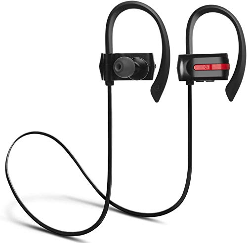 Bluetooth Headphones, ZENBRE E3 Bluetooth 4.1 Stereo Earbuds, Wireless Headset Up to 7h Playtime, Sweatproof Noise Isolating with Enhanced Bass (Black)