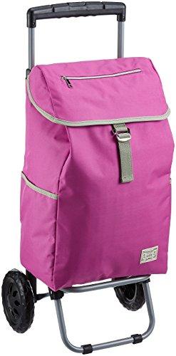 [アディ] ショッピングキャリー 保冷機能付き 取り外し可能 折り畳み 27L 51 cm 2.1kg ピンク