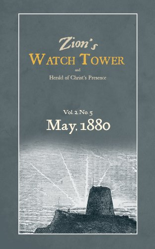 Zion's WatchTower: May 1880 (English Edition)