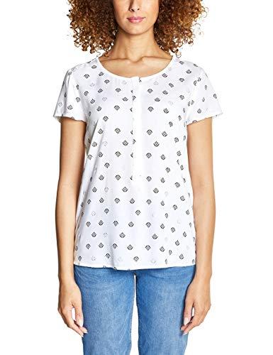 Street One Damen 341479 Vivian Bluse, Mehrfarbig (White 20000), (Herstellergröße:44)