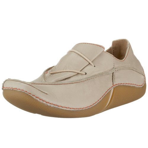 Clarks Fabulous Free 2032 4630, Damen Sneaker, beige, (cotton leather), EU 37 (UK4)