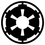 GALACTIC EMPIRE Imperial Emblem sticker decal 4' x 4'